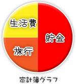 船橋|千葉|錦糸町の高収入風俗アルバイト【キャンパスサミットグループ】あんなの家計簿グラフ